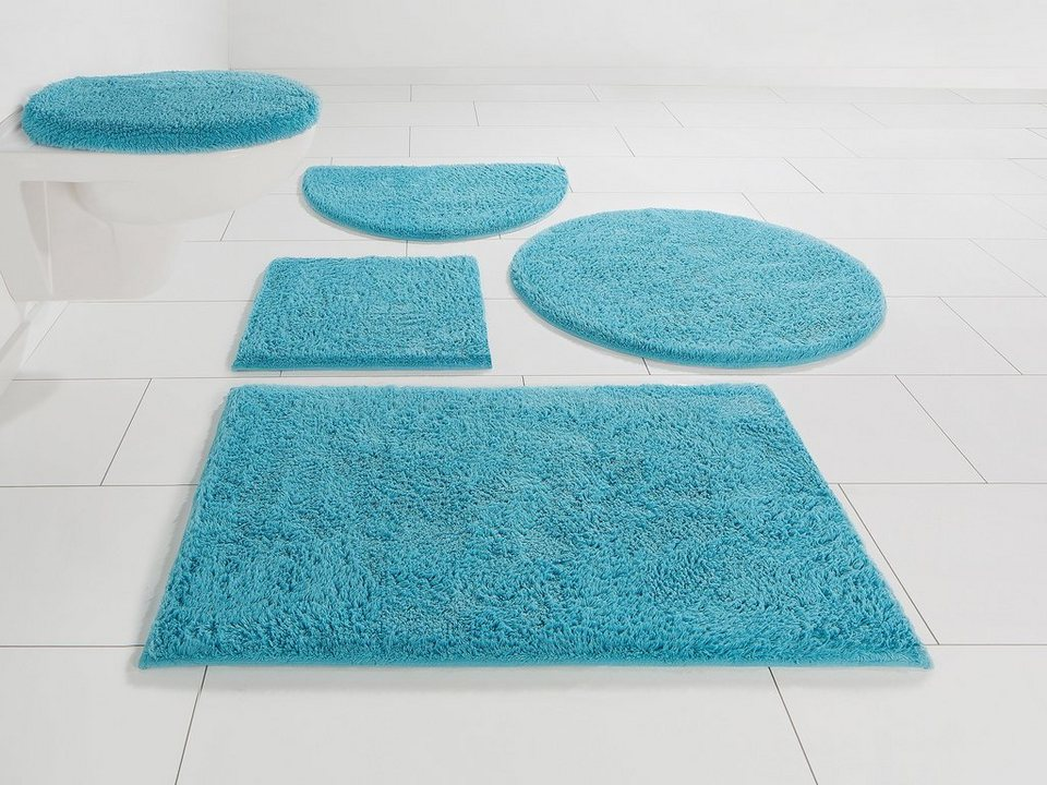Badematte »Maren« Home affaire, Höhe 15 mm, rutschhemmend beschichtet,  fußbodenheizungsgeeignet, Bio-Baumwolle online kaufen | OTTO