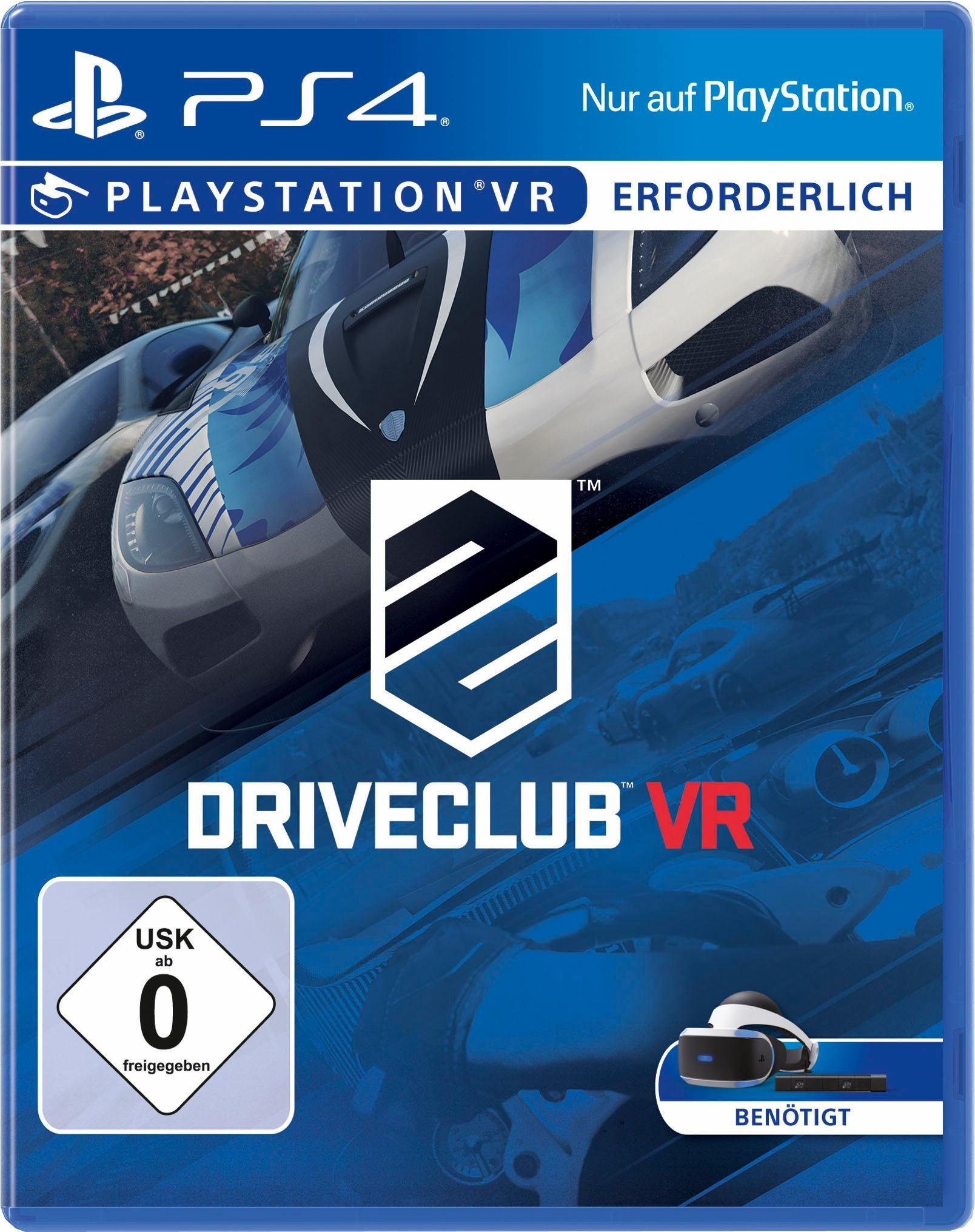Driveclub VR PlayStation 4