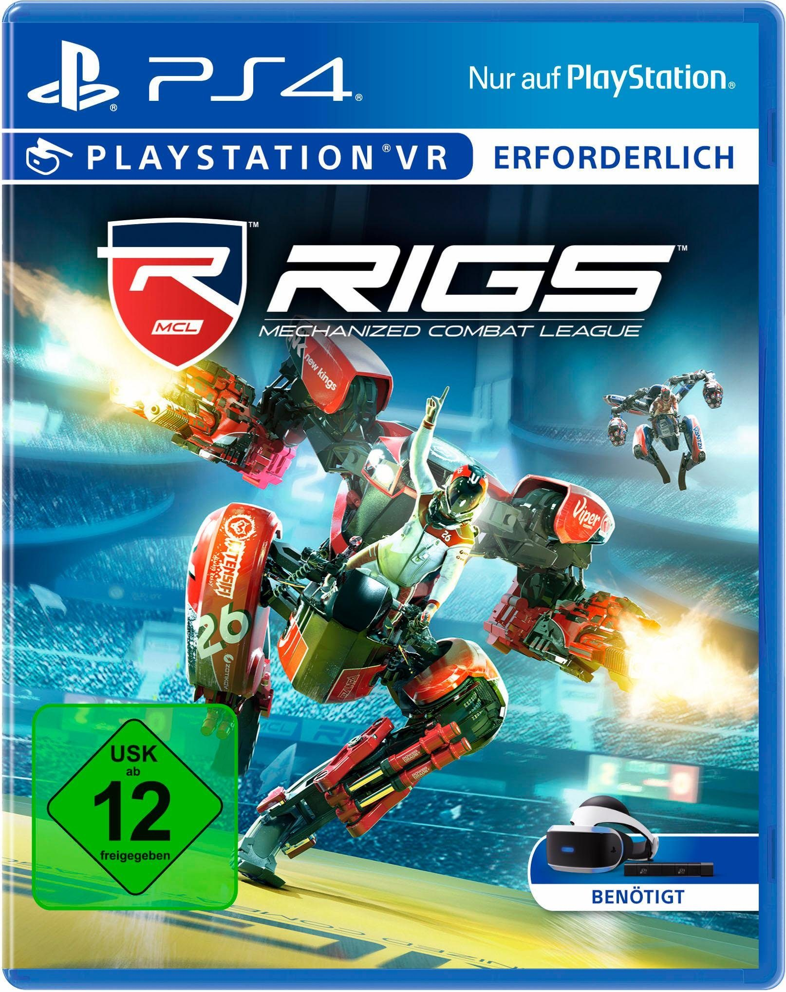 RIGS: Mechanized Combat League VR PlayStation 4