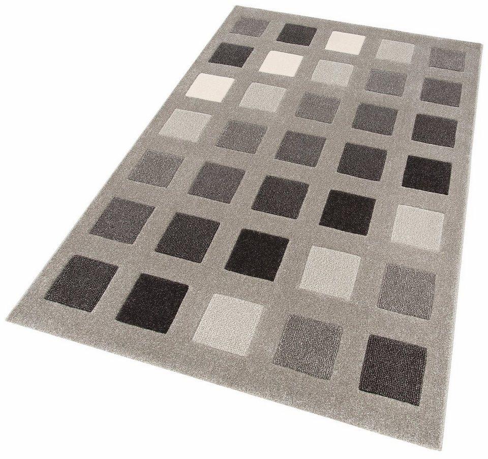 teppich kaya home affaire rechteckig h he 13 mm. Black Bedroom Furniture Sets. Home Design Ideas