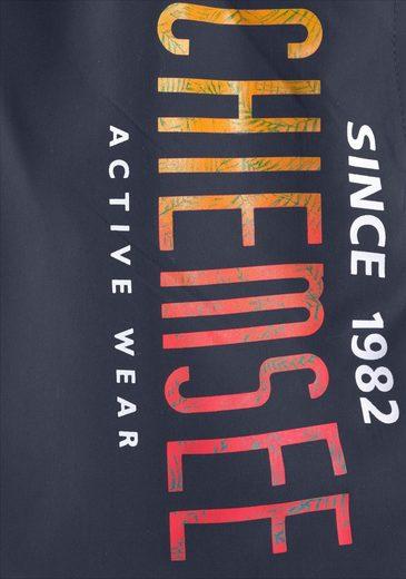 Chiemsee Badeshorts mit Logodruck
