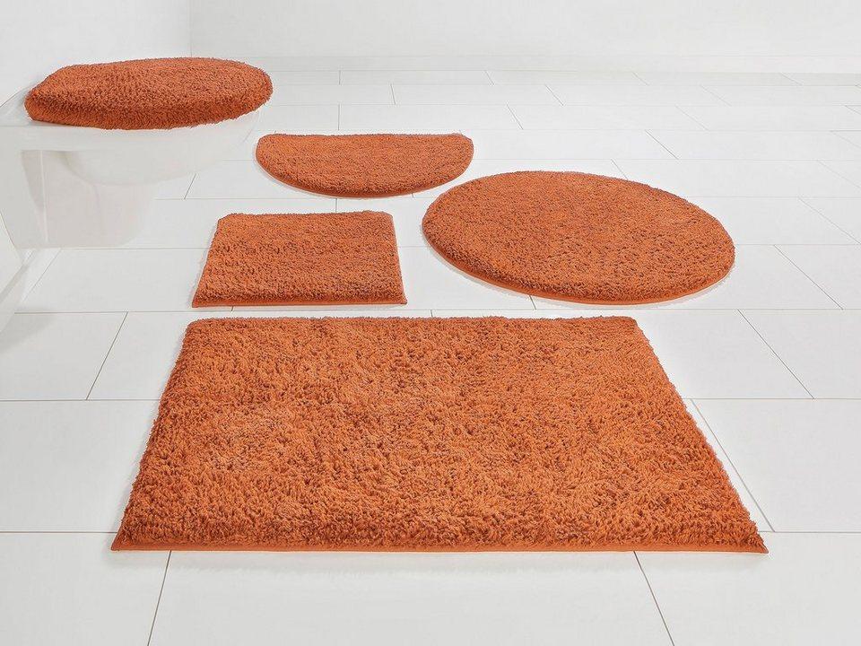 Home Affaire Badmatten-Set 3 tlg grau für Stand WC Neu
