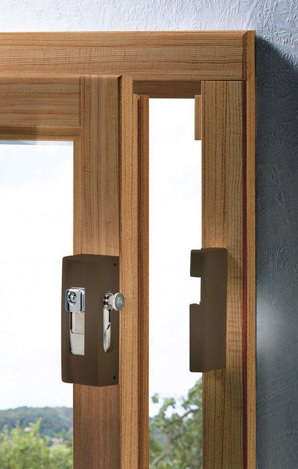 burg w chter fenstersicherung massive fenstersicherung b1 br sb online kaufen otto. Black Bedroom Furniture Sets. Home Design Ideas