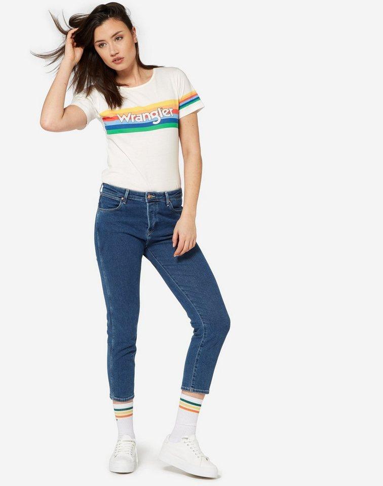 Wrangler jeans cropped straight« online kaufen otto