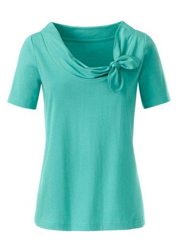 Classic Basics Shirt mit seitlichen Schleife