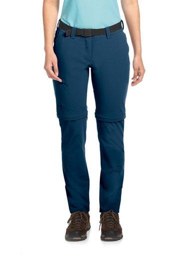 Maier Sports Funktionshose »Inara slim zip« Schnal geschnittene Wanderhose aus bi-elastischem Material