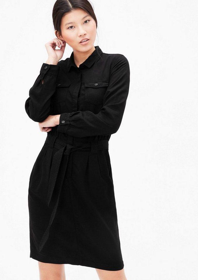 s oliver red label hemdblusenkleid in gewaschener optik online kaufen otto. Black Bedroom Furniture Sets. Home Design Ideas
