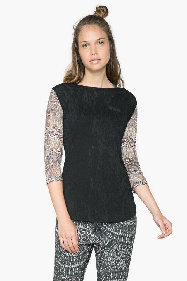 desigual t shirt tsl t s 3 4 sleeve y kaufen otto. Black Bedroom Furniture Sets. Home Design Ideas
