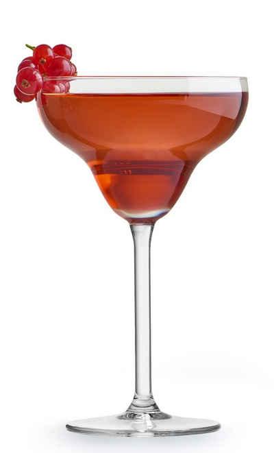 van Well Cocktailglas »Margarita«, Glas, im Geschenkkarton, 4-teilig