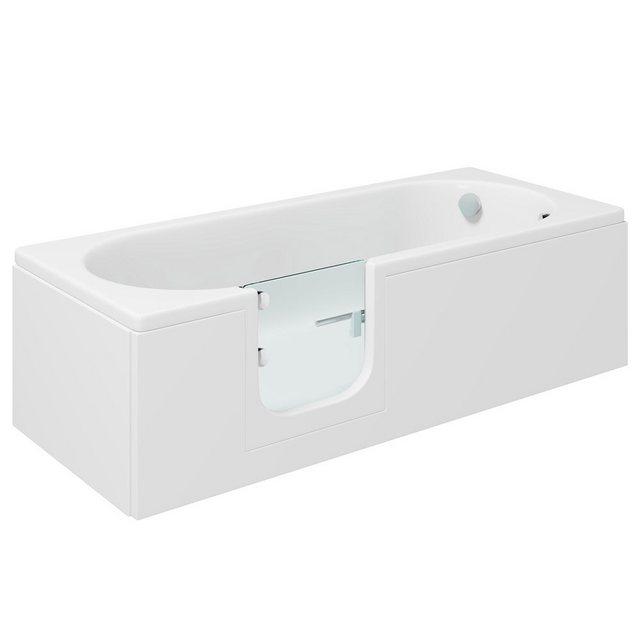 Badewannen und Whirlpools - HAK Badewanne »CASCADE, Badewanne mit Tür«, 150x70 cm, links  - Onlineshop OTTO
