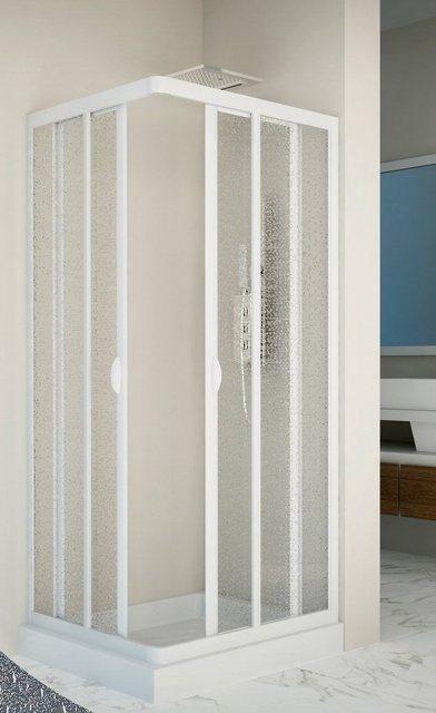 Duschen und Zubehör - Forte Eckdusche »Vela«, BxT 70x70 cm, Acrylglas, variabler Verstellbereich, BxT 70 x 70 cm  - Onlineshop OTTO