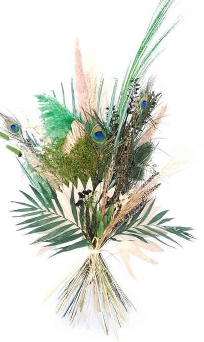 Trockenblume »Jungle Feelings«, Everflowers, Höhe 90 cm, Blumenstrauß