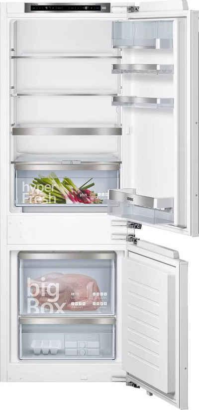 SIEMENS Einbaukühlgefrierkombination iQ500 KI77SADE0, 157,8 cm hoch, 55,8 cm breit