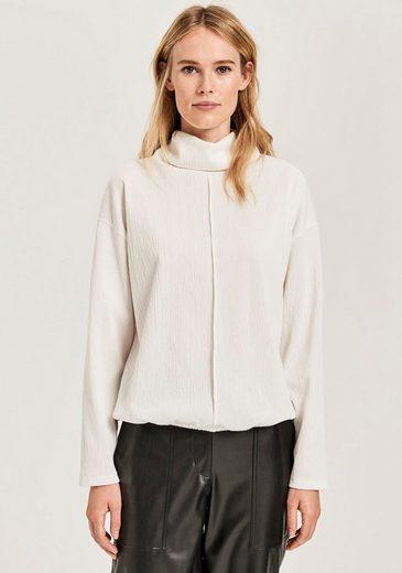 OPUS Sweatshirt »Glise« mit weich fallendem Rollkragen