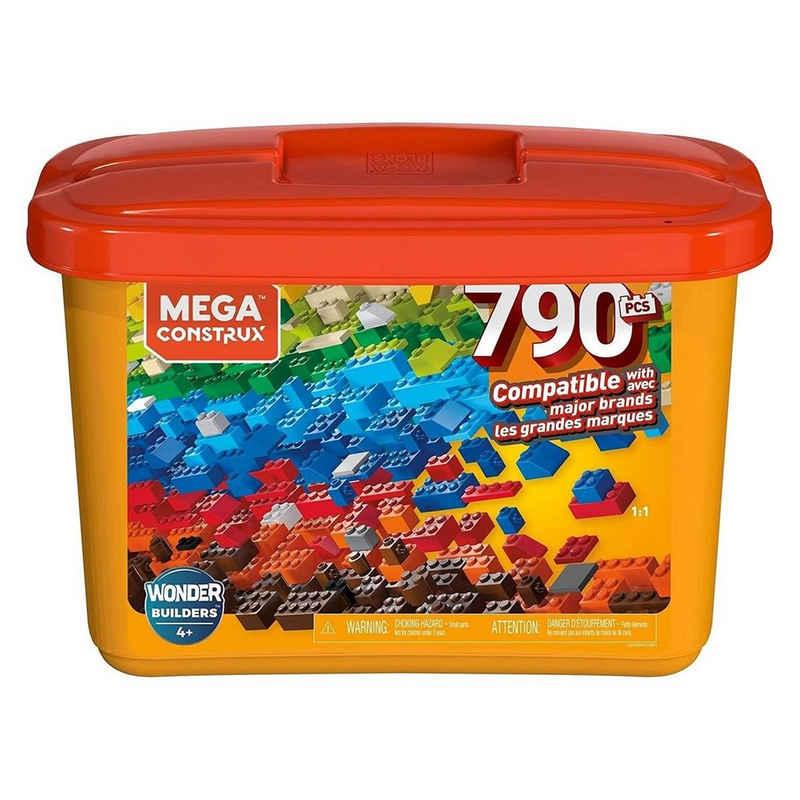 Mattel® Spielbausteine »Mattel GJD24 - Mega Construx - Große Bausteine-Box, Wonder Builders, 790 Teile«