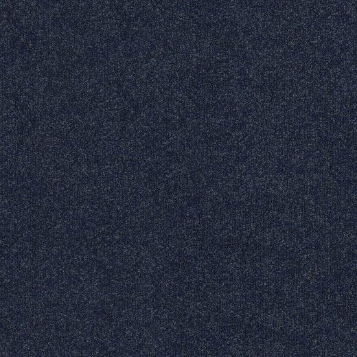 Teppichfliese »Madison«, quadratisch, Höhe 6 mm, blau, selbstliegend, leicht austauschbar