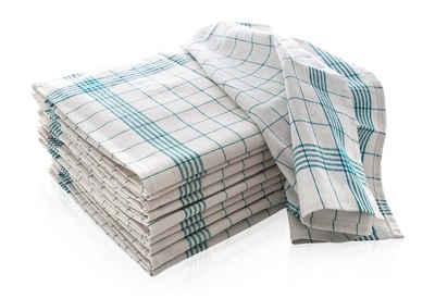 Hometex Premium Textiles Geschirrtuch »Trockentuch, Allzweck-Tücher kariert 50x70 cm aus 100% Baumwolle, Premium-Qualität - Vielfältig einsetzbar«