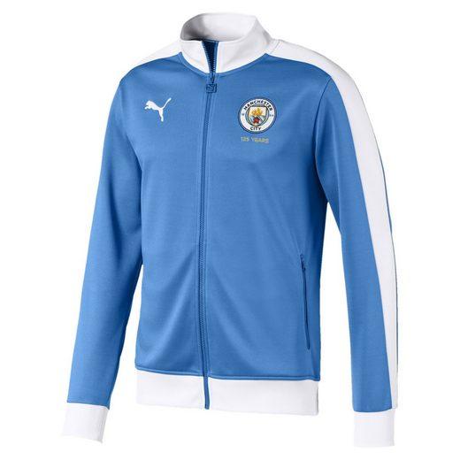 PUMA Softshelljacke »Manchester City 125 Year Anniversary T7 Herren Trainingsjacke«