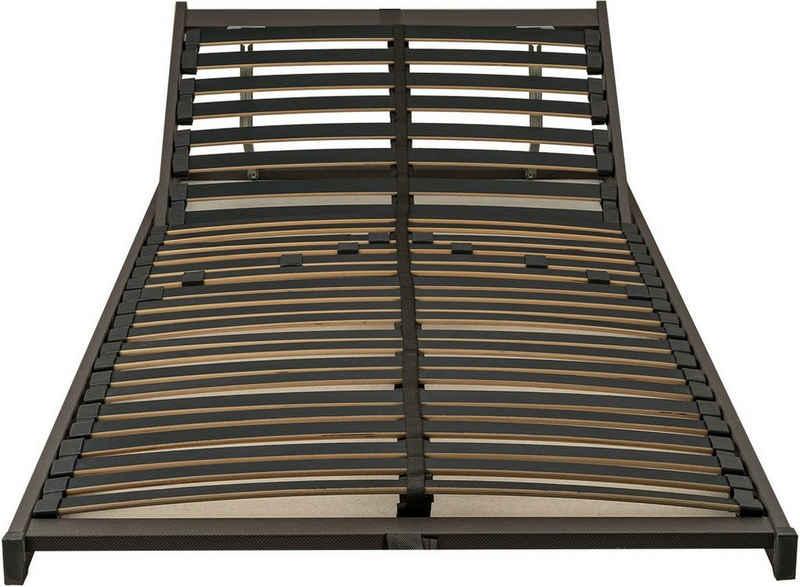 Lattenrost, »EvoX Carbon K«, Breckle, 28 Leisten, Kopfteil manuell verstellbar, Fußteil nicht verstellbar, Individuelle Härteverstellung, für alle Matratzen geeignet, Made in Germany