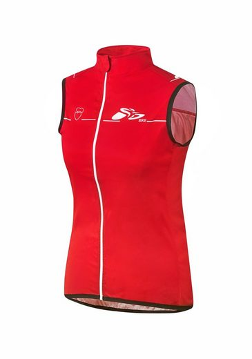 prolog cycling wear Softshellweste aus elastischem Stoff