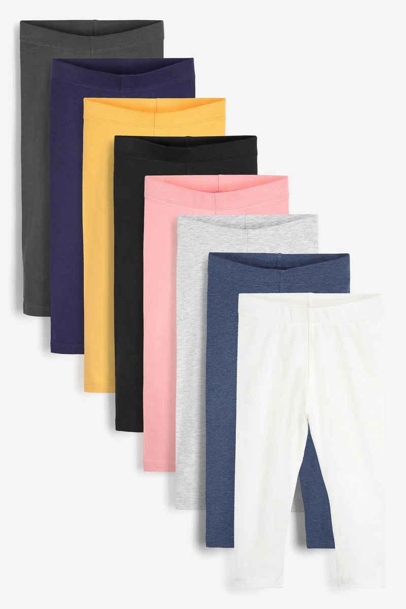 Next Leggings »8er-Pack Leggings aus Baumwolle« (8-tlg)
