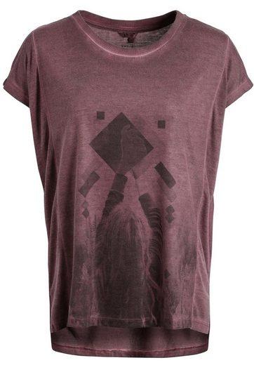 khujo Oversize-Shirt »SVERRE« mit Fotoprint