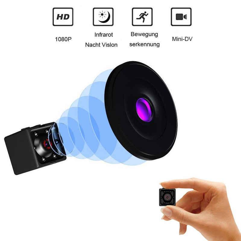 Favson »Mini Spionagekamera Geheimkamera Minikamera HD 1080P / 720P Spionagekamera Drahtlose kleine tragbare Nachtsicht-Bewegungserkennung für Zuhause, Auto, Drohne« Smart Home Kamera