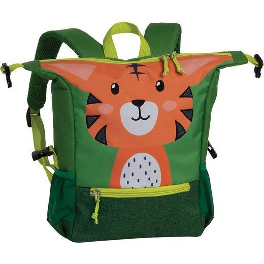 fabrizio® Kindergartentasche »Kinderrucksack Katze grau«