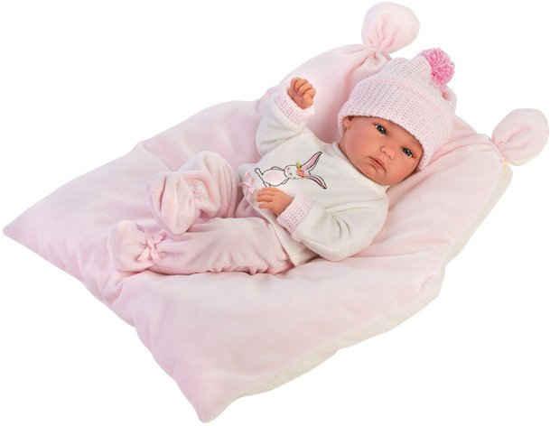 Llorens Babypuppe »Bimba rosa, 35 cm«, Made in Europe