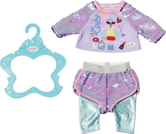 Zapf Creation® Puppen Accessoires-Set »BABY born Fashion 43 cm lila Shirt«