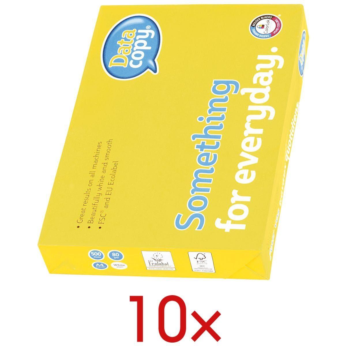 Data-Copy 10 Pack Multifunktionales Druckerpapier »Everyday Printing« 1 Set