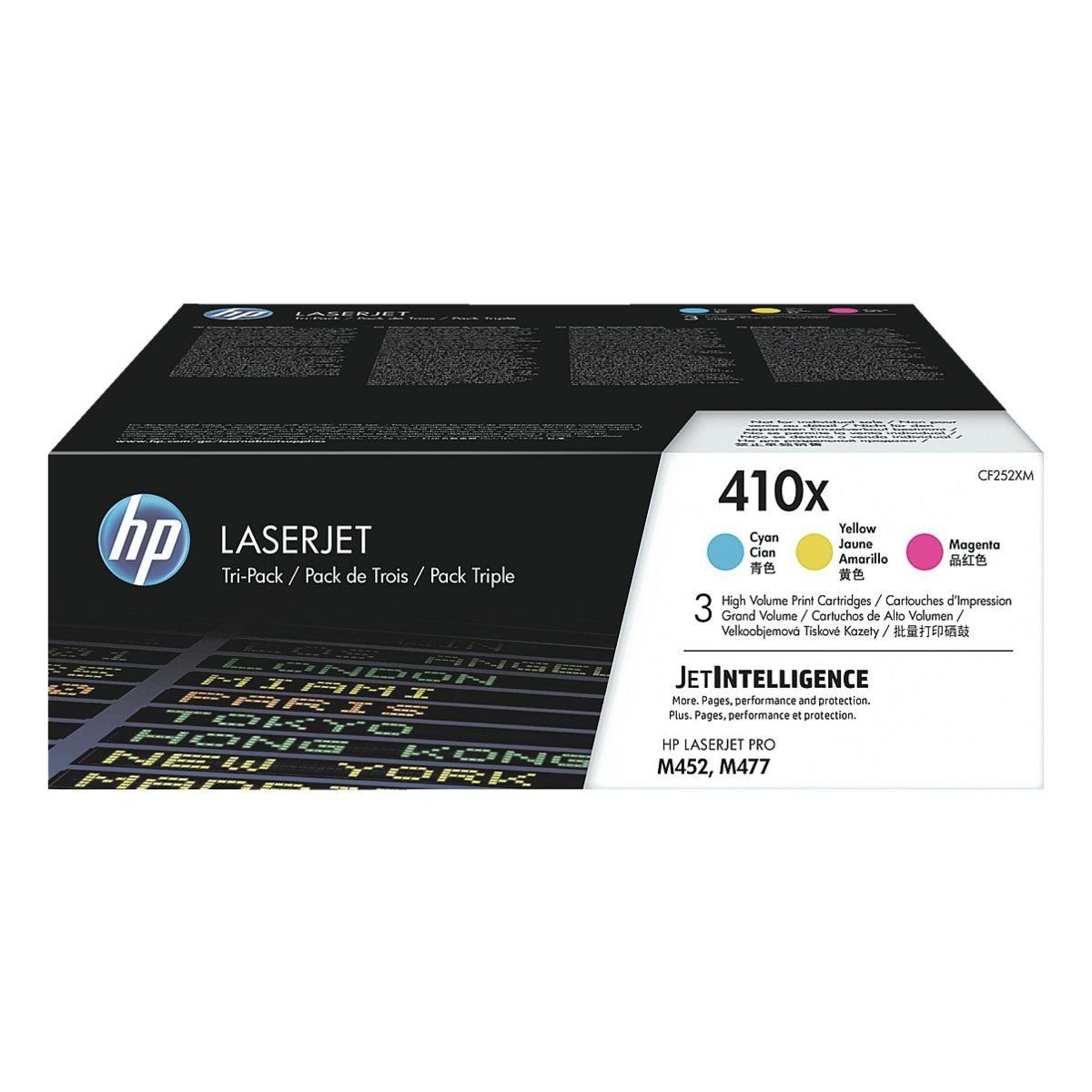 HP 3er-Pack Druckkassette »HP CF252XM«