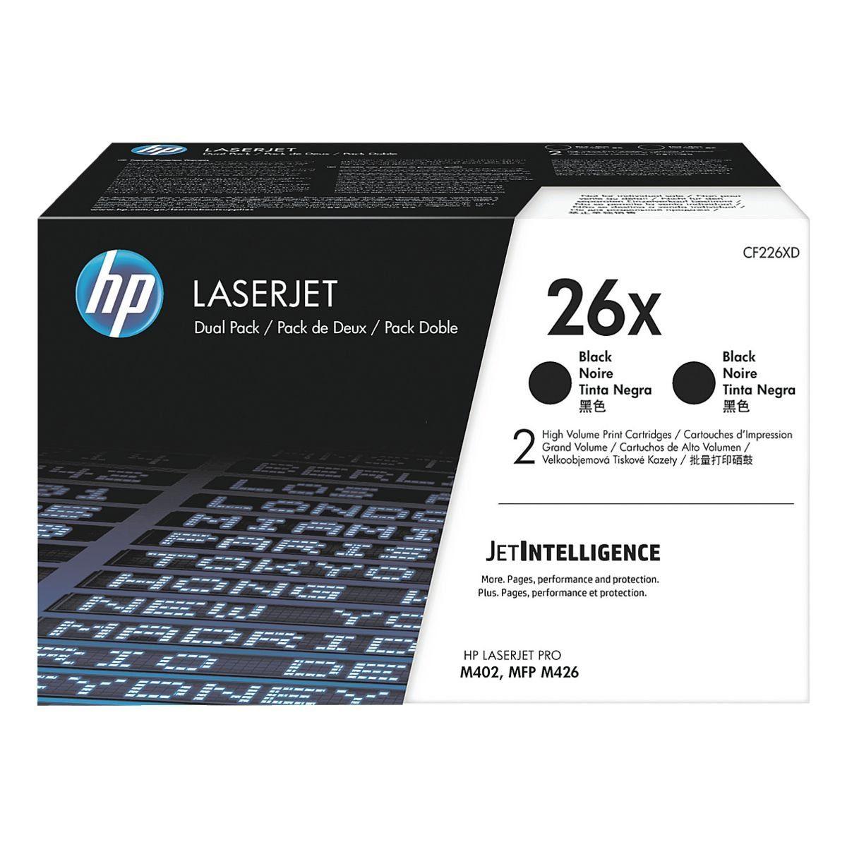 HP 2er-Pack Druckkassette »HP CF226XD«