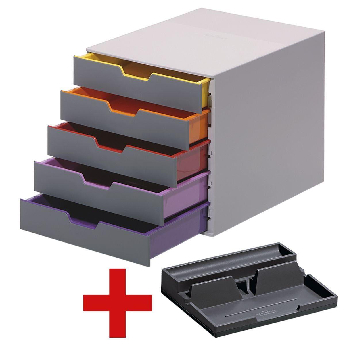 Durable Schubladenbox inkl. Schreibtisch-Organizer »Varicolor 5« 1 Set