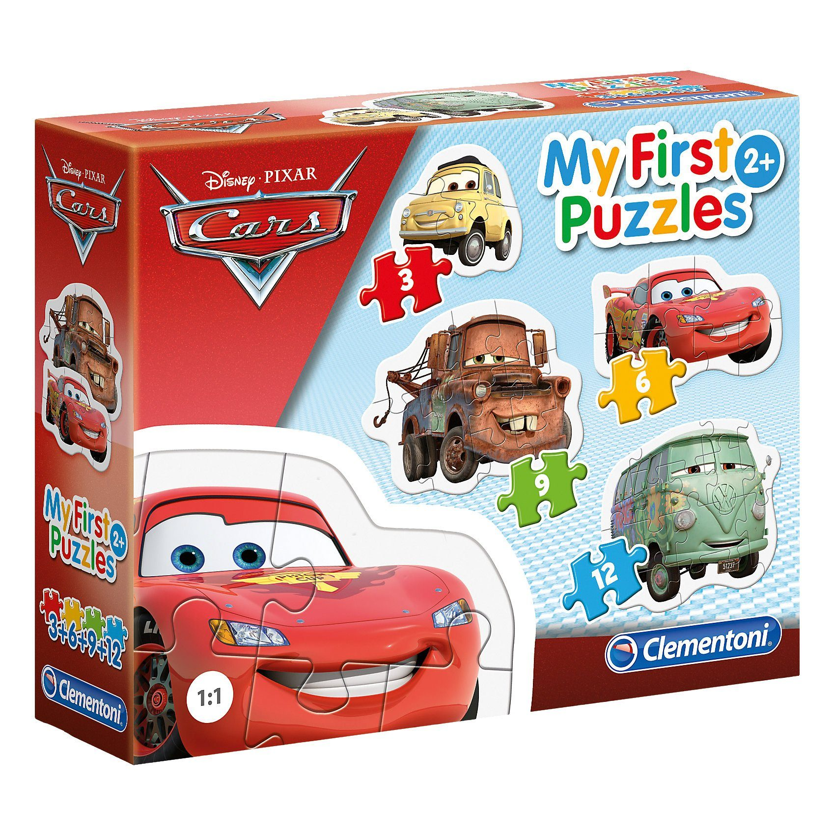 Clementoni My first puzzles - Cars
