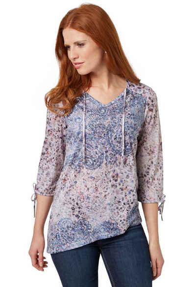Bonita Shirt mit Schleifendetail Sale Angebote Spremberg