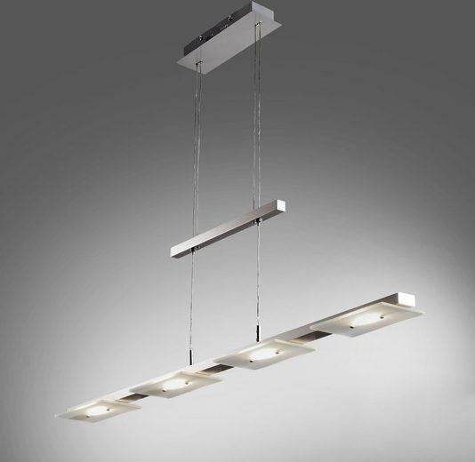 B.K.Licht LED Pendelleuchte »Aries«, LED Deckenleuchte Design Pendel-Leuchte inkl. 18W 1600lm Hänge-Lampe Esszimmerlampe