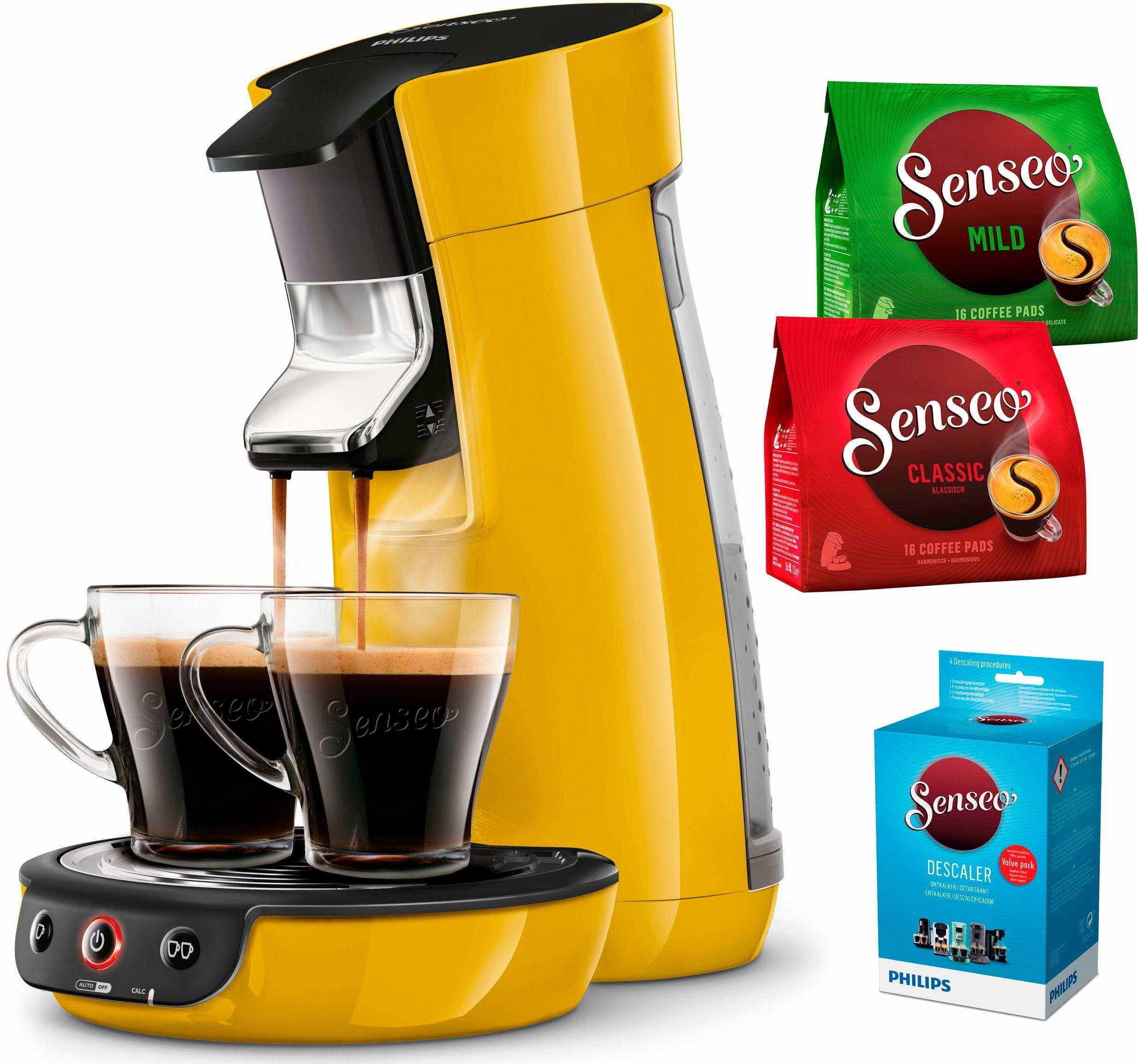 Senseo Kaffeepadmaschine SENSEO® Viva Café HD7829/50, inkl. Gratis-Zugaben im Wert von 14,- UVP