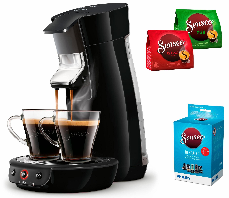 Senseo Kaffeepadmaschine SENSEO® Viva Café HD7829/60, inkl. Gratis-Zugaben im Wert von 14€ UVP