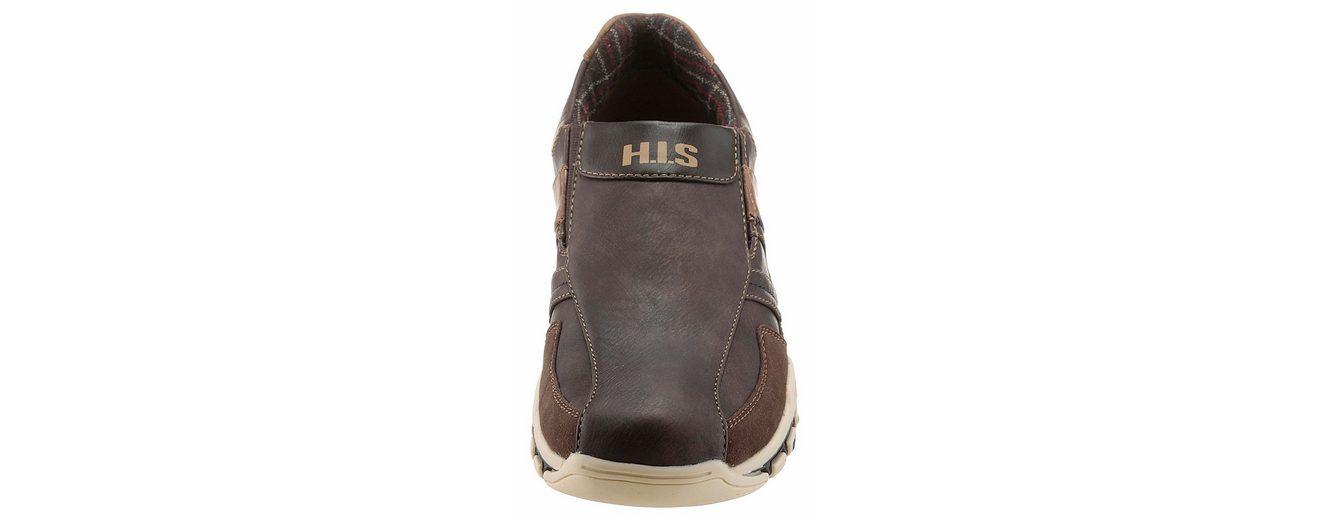 H.I.S Slipper, mit Used-Finish