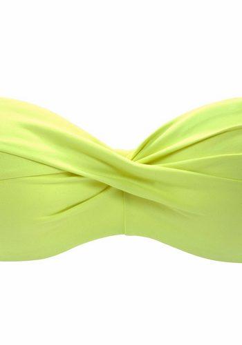Damen s.Oliver RED LABEL Beachwear Bügel-Bandeau-Top Spain grün | 04893848587804