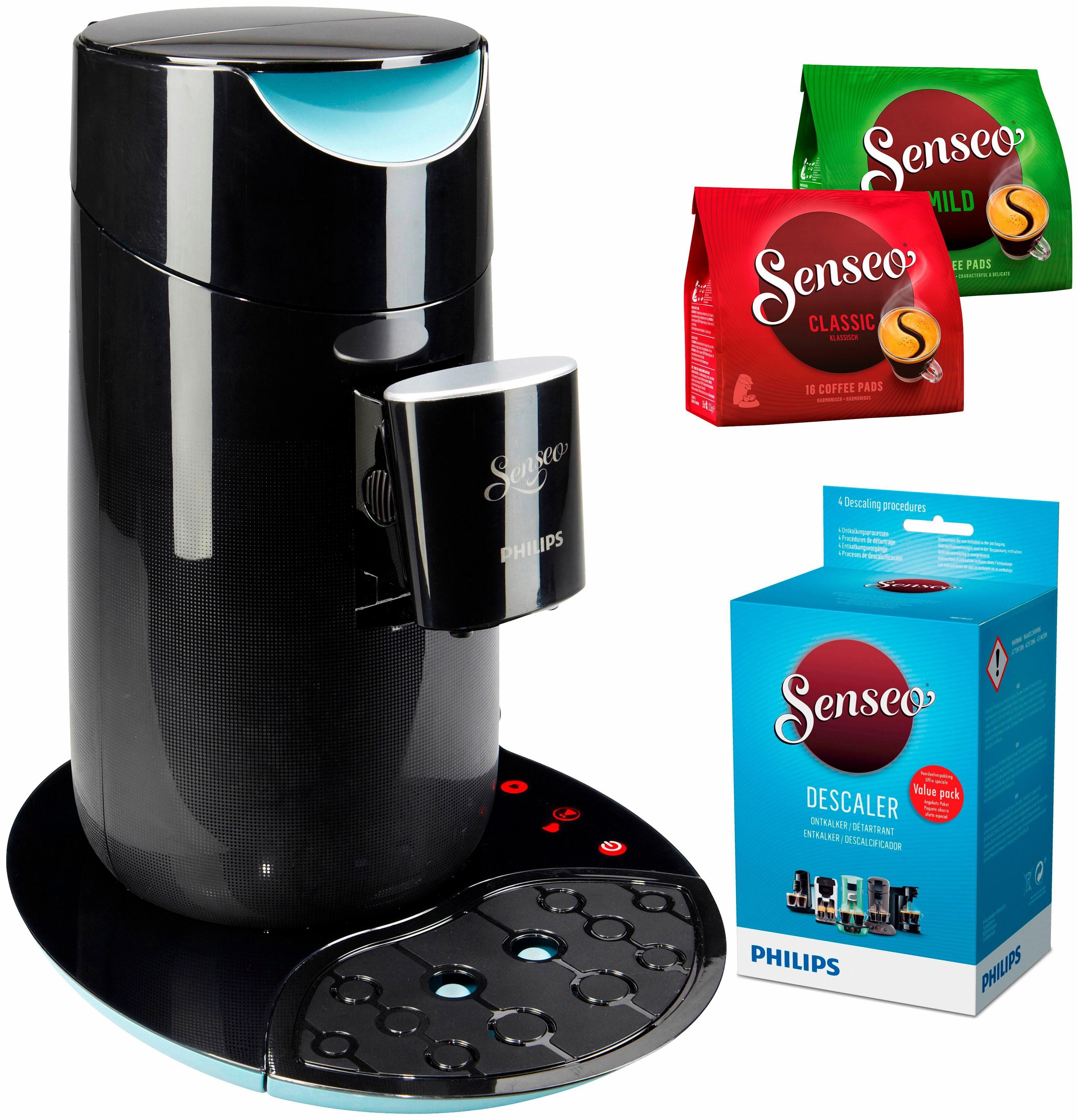 SENSEO® Kaffeepadmaschine HD7874/60 Twist & Milk, inkl Gratis-Zugaben im Wert von 14 €