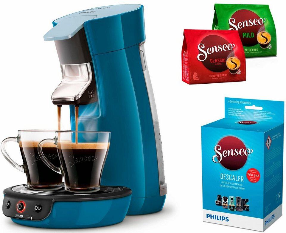 senseo kaffeepadmaschine senseo viva caf hd7829 70 inkl. Black Bedroom Furniture Sets. Home Design Ideas