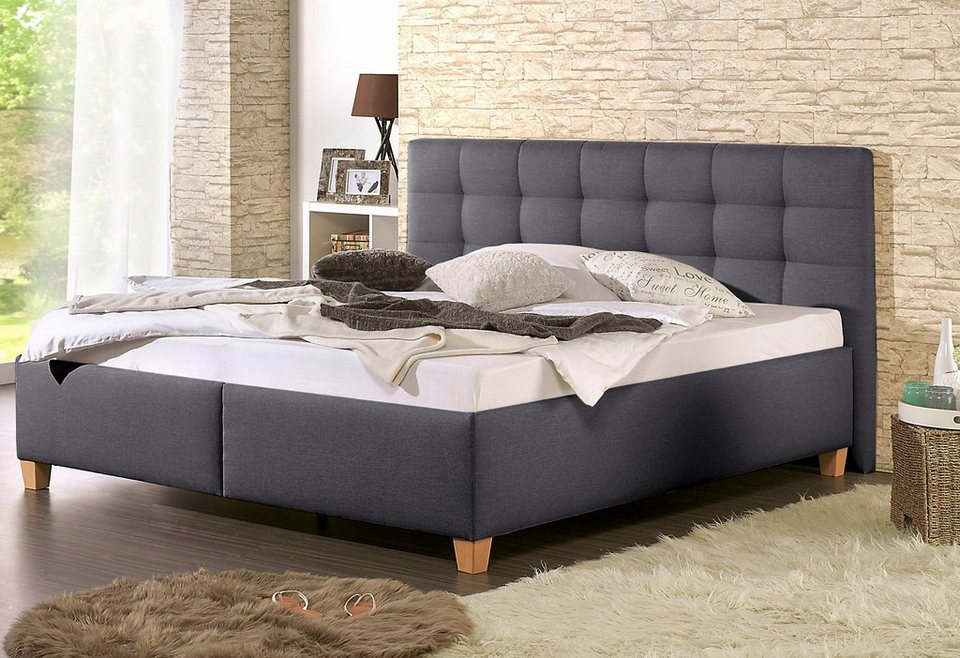 home affaire polsterbett timmy mit oder ohne matratze in. Black Bedroom Furniture Sets. Home Design Ideas
