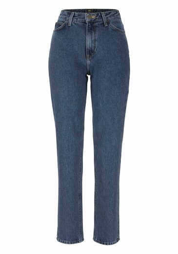Lee® Stretch-Jeans »MOM Straight« High waist