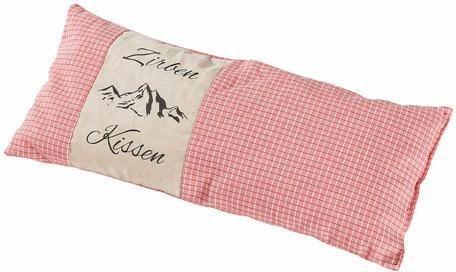 Duftkissen Zirbenkissen Herbalind Fullung 100 Zirbe 1 Tlg Karo Rose Mit Natur Und Druck Online Kaufen Otto