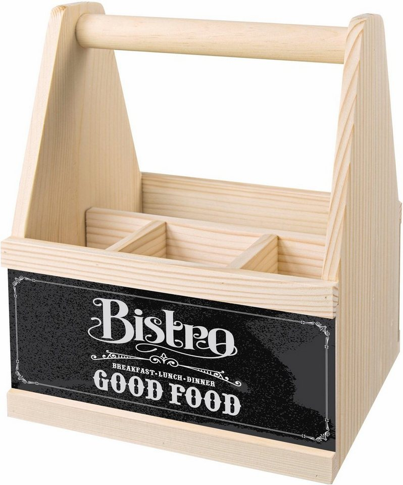 contento besteck caddy bistro good food kaufen otto. Black Bedroom Furniture Sets. Home Design Ideas