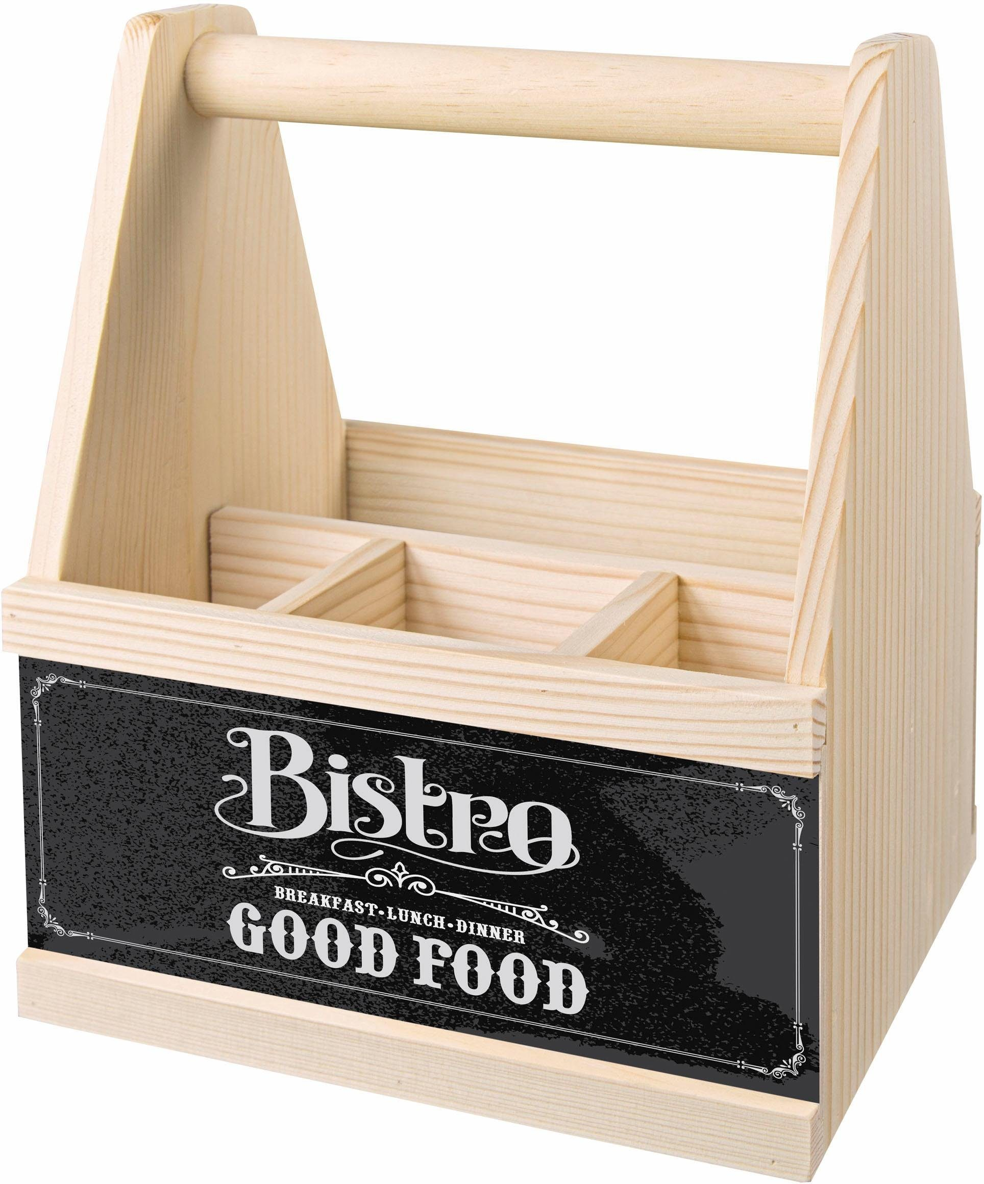 Contento Besteck Caddy »Bistro Good Food«