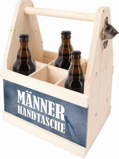 Contento »männer Flaschenkorb Holz Aus Handtasche« Europäischem wWWB14pqAS