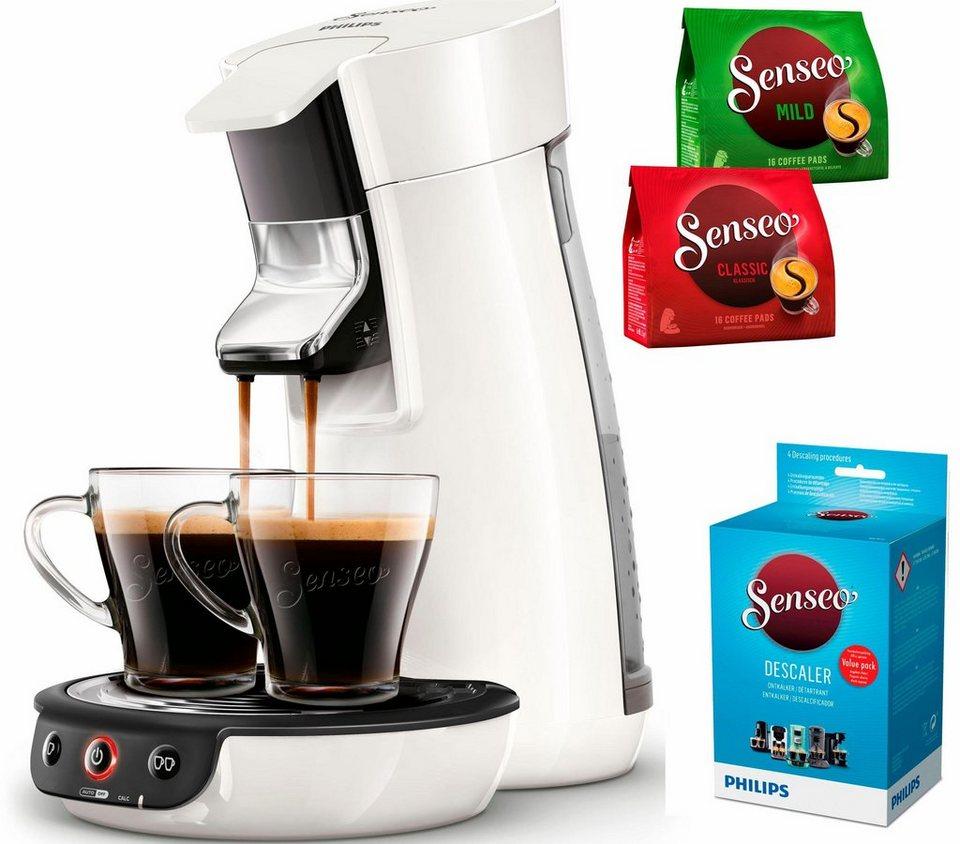senseo kaffeepadmaschine senseo viva caf hd7829 00 inkl. Black Bedroom Furniture Sets. Home Design Ideas